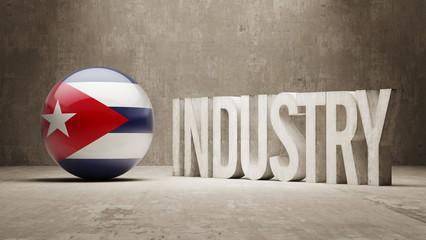 Cuba. Industry Concept.