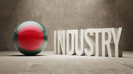 Bangladesh. Industry Concept.