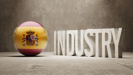 Spain. Industry Concept.
