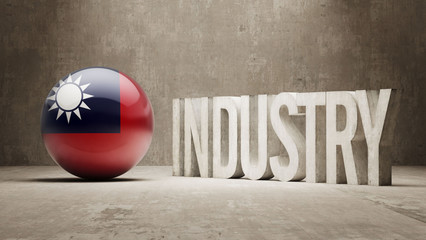 Taiwan. Industry Concept.