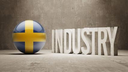Sweden. Industry Concept.
