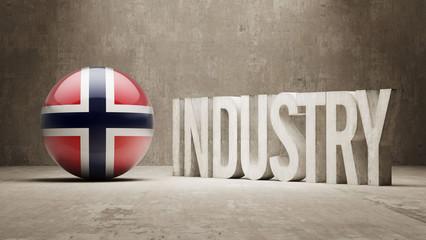 Norway. Industry Concept.