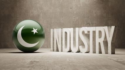 Pakistan. Industry Concept.