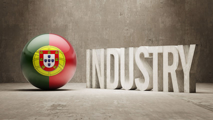 Portugal. Industry Concept.