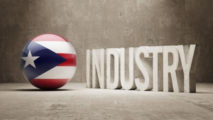 Puerto Rico. Industry Concept.