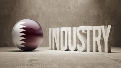 Qatar. Industry Concept.
