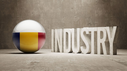 Romania. Industry Concept.