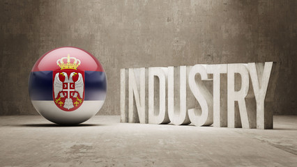 Serbia. Industry Concept.