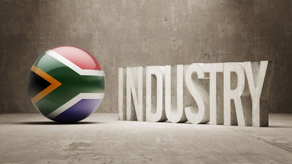 South Africa. Industry Concept.