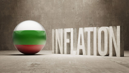 Bulgaria. Inflation Concept.