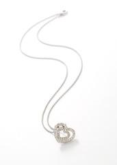 Diamanten Herz mit kette