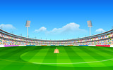 Stadium of cricket