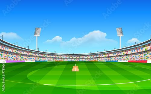 Stadium of cricket - 77810263