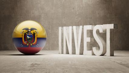 Ecuador. Invest Concept.