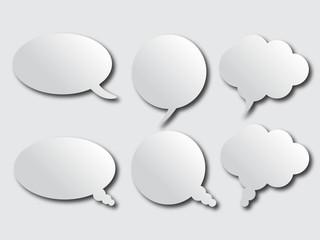 gradient communication bubbles