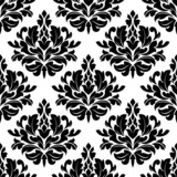 Classic damask floral seamless pattern