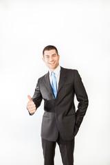 Successfull businessman