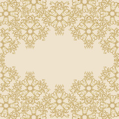 gold ornamental background
