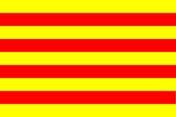 Senyera, flag of Catalonia