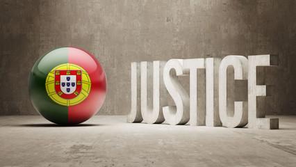 Portugal. Justice Concept.