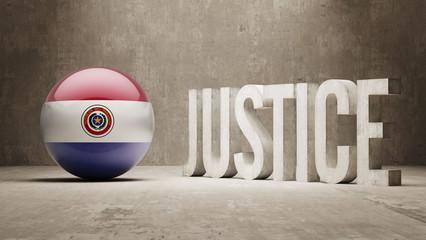 Paraguay. Justice Concept.