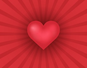 Abstract background with heart theme 2