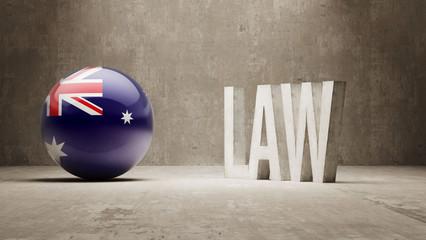 Australia. Law Concept.