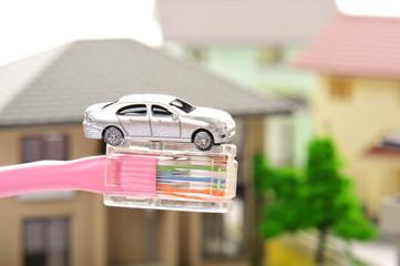 車とインターネット回線