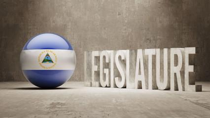 Nicaragua. Legislature Concept.