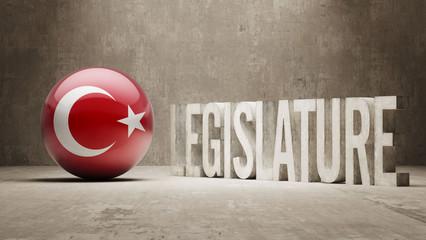 Turkey. Legislature Concept.