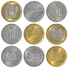 singaporean dollar coins collection
