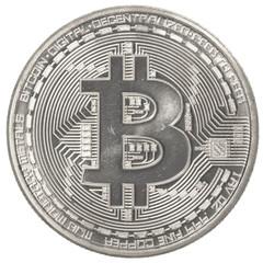 silver bitcoin (physical)