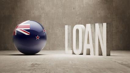 New Zealand. Loan Concept.