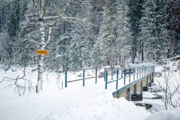 Eibsee winter