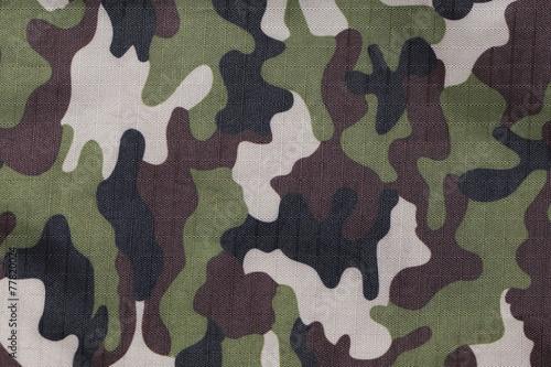 Fotobehang Stof soldier green camo