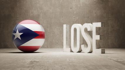 Puerto Rico. Lose Concept.