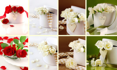 Dekorationen zur Hochzeit