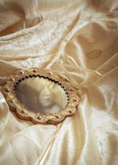 Wedding Dress & Mirror