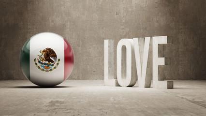 Mexico. Love Concept.