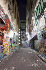 Melbourne's graffiti Street art