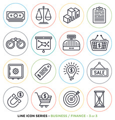Finance symbols & accounting equipments