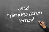 Fototapety Fremdsprachen lernen