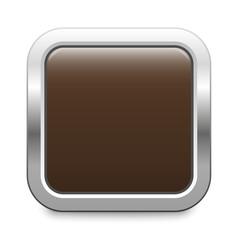 brown metallic button square template