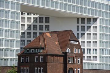 Ericusspitze in der Hamburger Hafencity, Deutschland