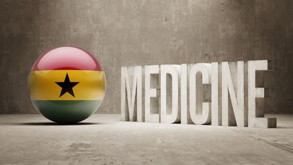 Ghana. Medicine Concept.