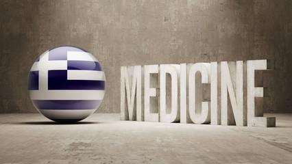 Greece. Medicine Concept.