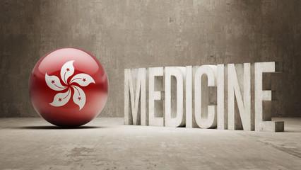 Hong Kong. Medicine Concept.