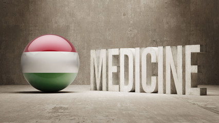 Hungary. Medicine Concept.
