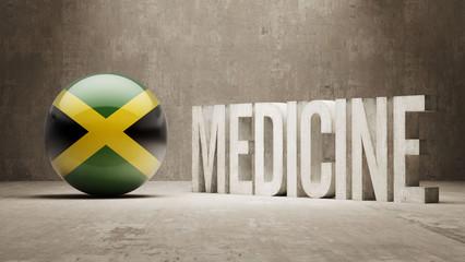 Jamaica. Medicine Concept.