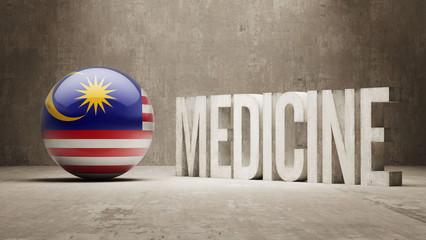 Malaysia. Medicine Concept.